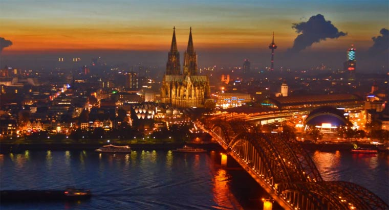 Timelapse: Köln cologne_in_motion