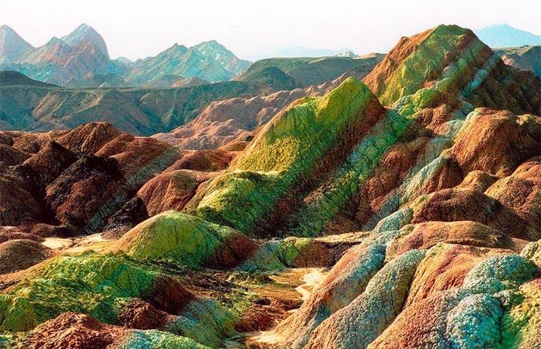 Die bunten Berge des Zhangye Danxia colorfulchinarocks_04