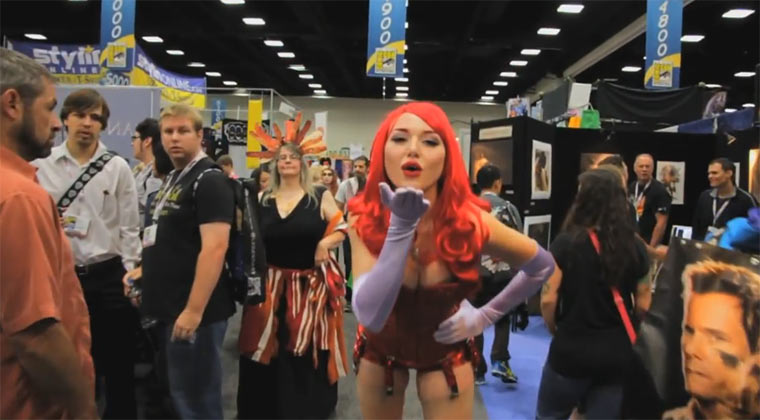 Cosplay: 2 Videos von der ComicCon comicconcosplay