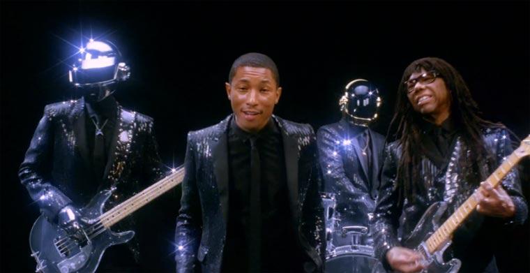 Daft Punk ft. Pharrell - Get Lucky ( Teaser )  daft_punkt_get_lucky