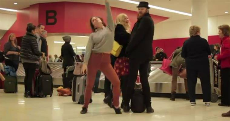 Dance Like Nobody's Watching: Airport