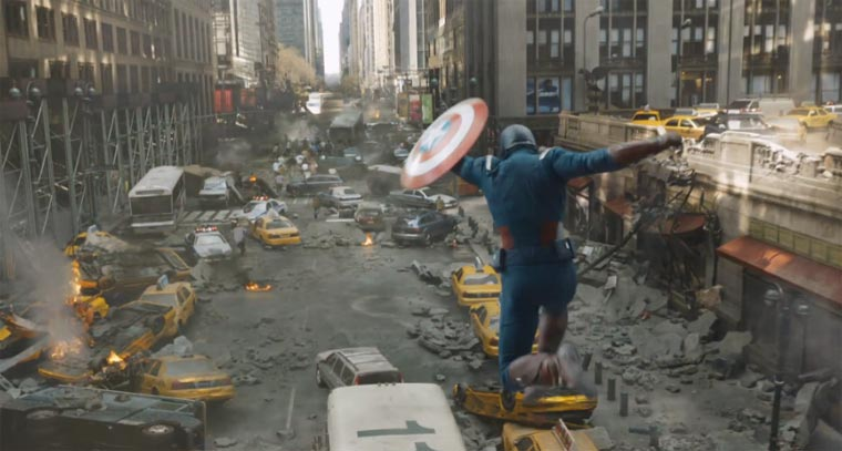 The Avengers: wie das digitale New York hergestellt wurde