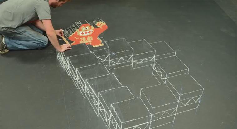 Donkey King meets M.C. Escher