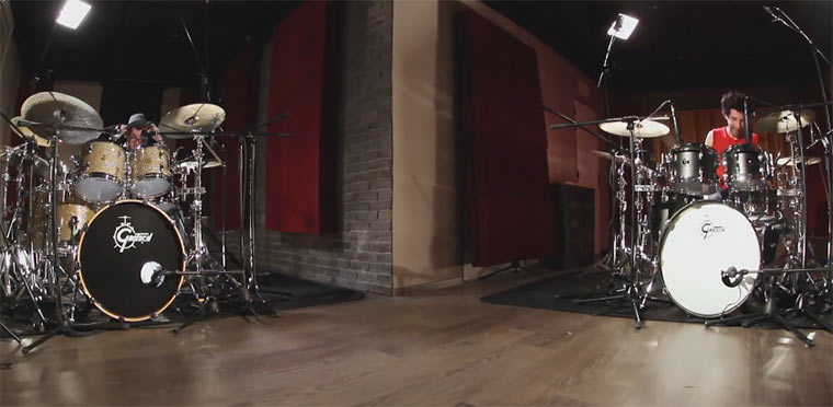 Drummer Battle: Jazz vs. Metal drumsbattle