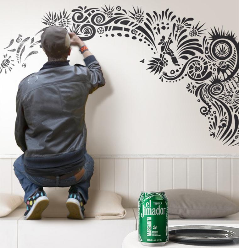 Berliner Street Art an deiner Wand eljimador_wanddeko