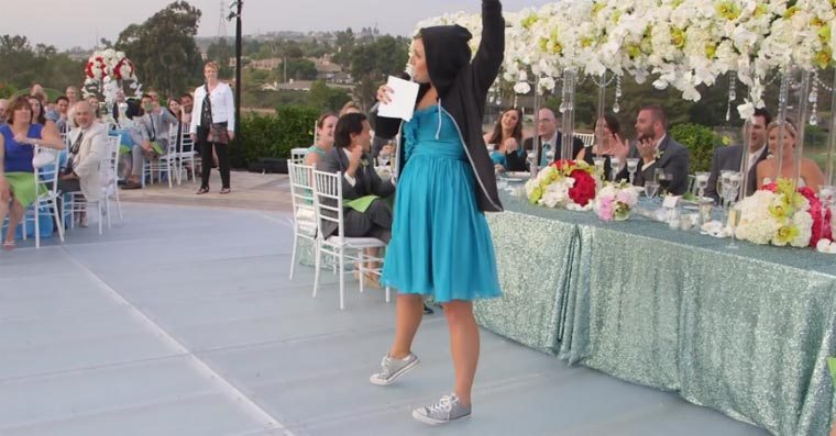 Epic: Hochzeitsrede als Eminem-Rap