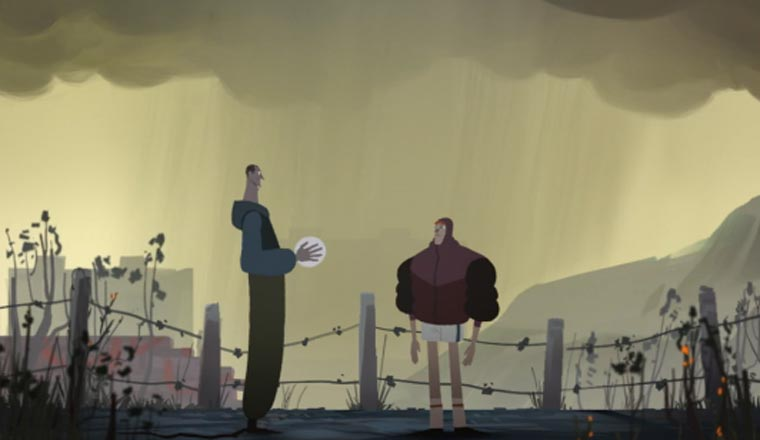 Animated Short: Everything I Can See From Here