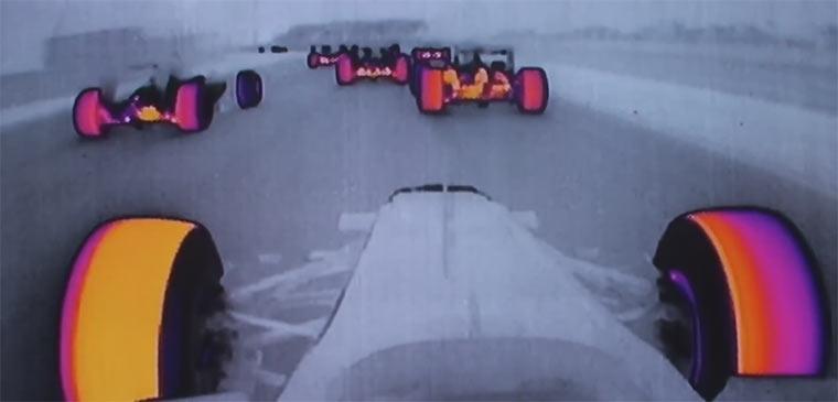 Formel 1: Hitzekamera