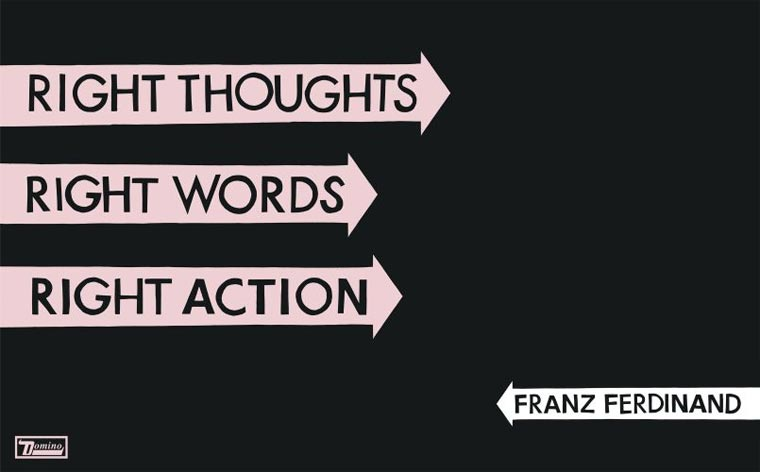 Neues Franz Ferdinand-Album franzferdinand_right-thoughts-right-words-right-action