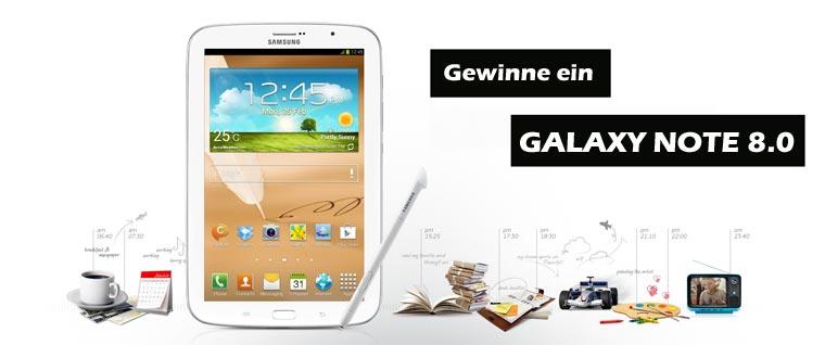 Ich lese aus meinem Buch und ihr könnt ein Galaxy Note 8.0 gewinnen! galaxinote80