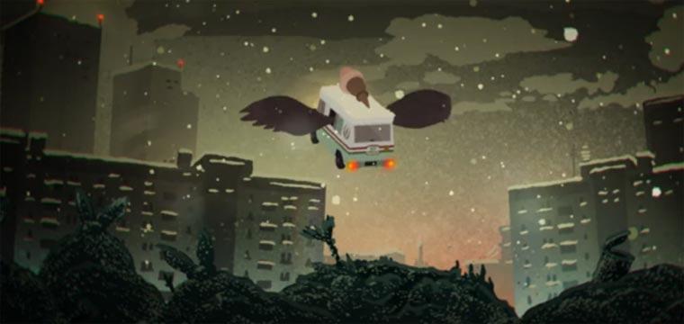 Eiswagen sind Zugvögel gelato-go-home