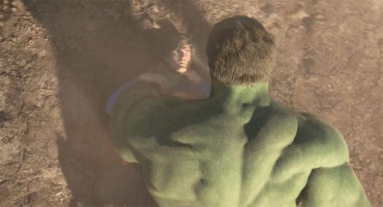 Superman vs. The Hulk (Part 3)