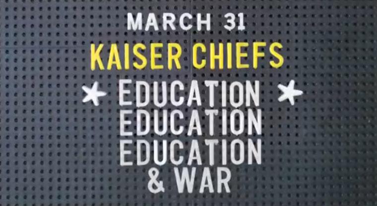 Neues Kaiser Chiefs-Album kommt kaiserchiefs