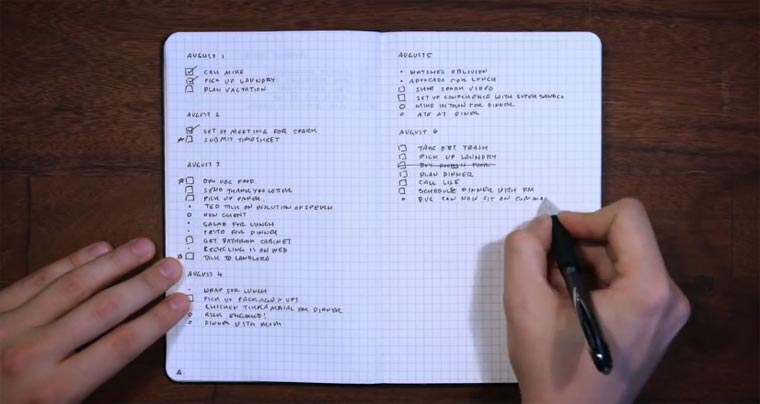 Selbstorganisation: Listen richtig anlegen lists