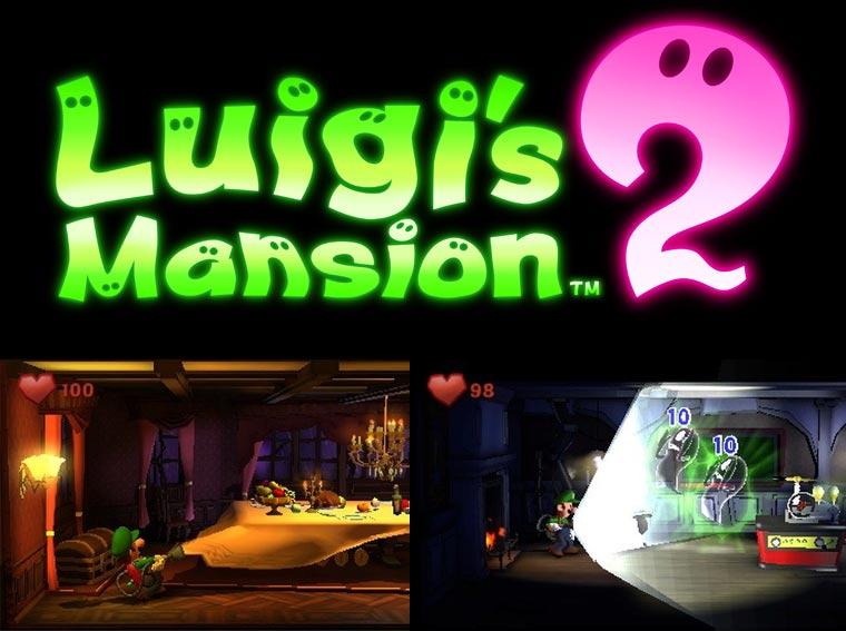 Werde Geisterjäger und gewinne einen Nintendo 3DS XL & Luigi's Mansion 2
