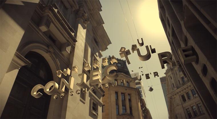 Floating Typography Animation