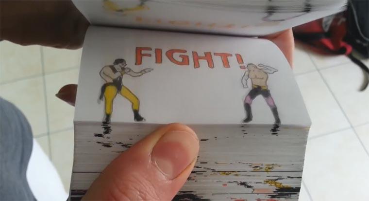 Mortal Kombat Daumenkino mortalkombatdaumenkino