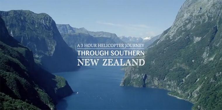 Schön: Neusseeland von oben neuseeland_heliclip