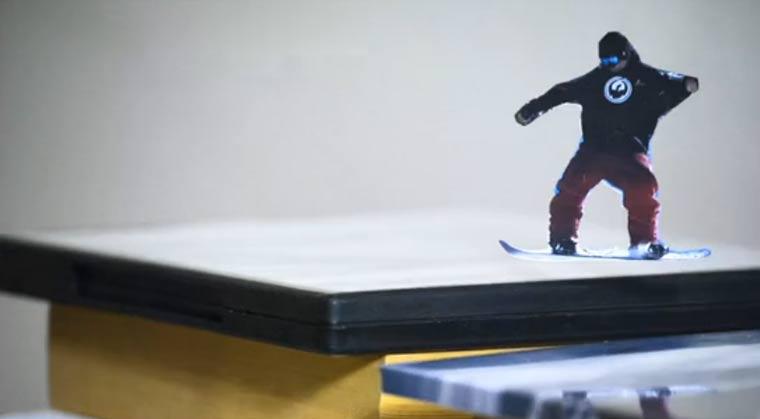 Papier-Snowboard-Stopmotion: Paper Shredder