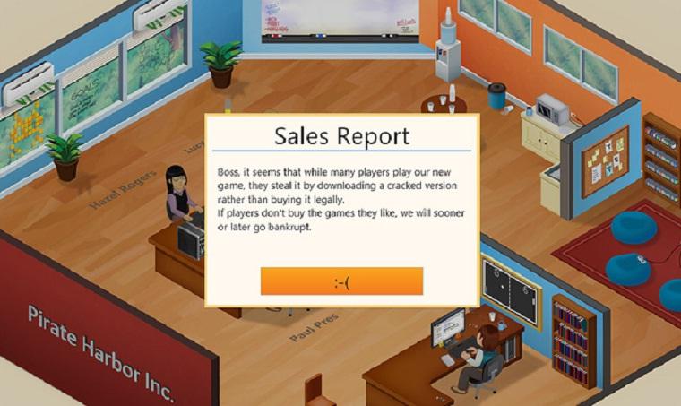 Videospiel-Sumilationsspiel lässt Piraten bankrott gehen