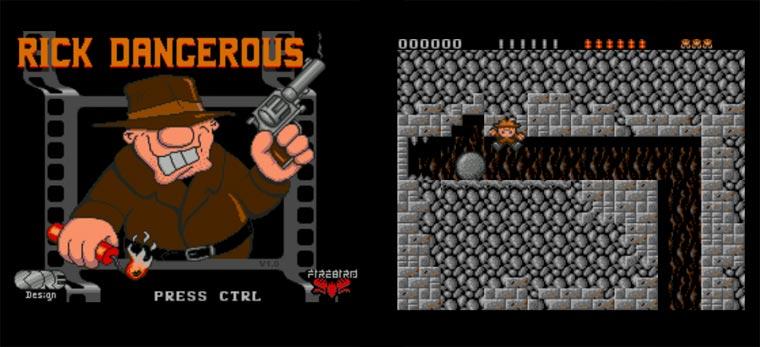 Atari-Klassiker Rick Dangerous Online spielen