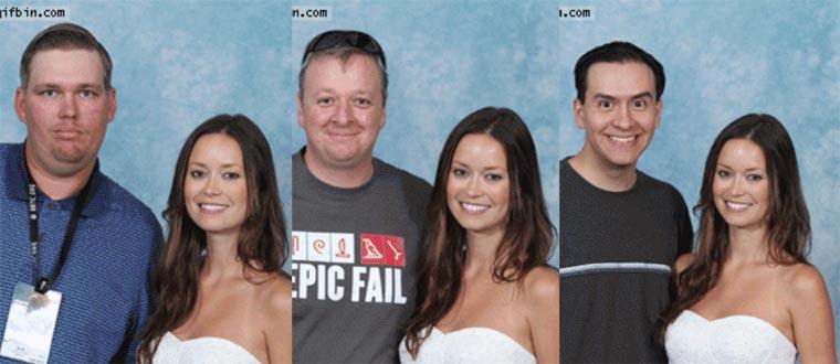 GIFs: Immer der gleiche Ausdruck auf Fotos samefaceallover