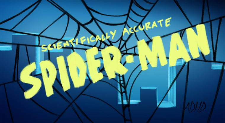 Scientifically Accurate Spider-Man scientifically_accurate_spider-man