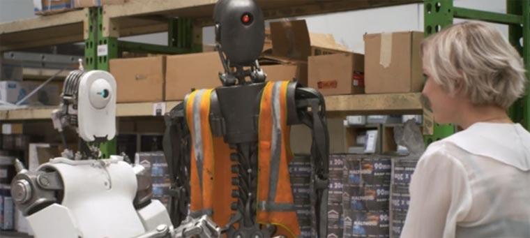 Roboter-Kurzfilm: Shelved