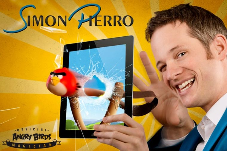 Angry Birds iPad-Magic simon_pierro_angrybirds
