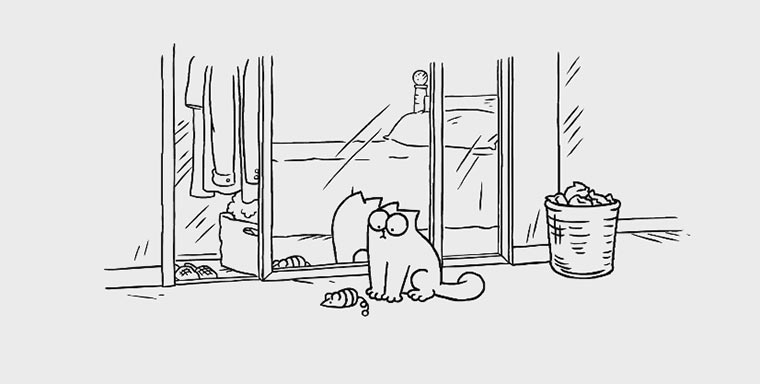 Simon's Cat - Mirror Mirror