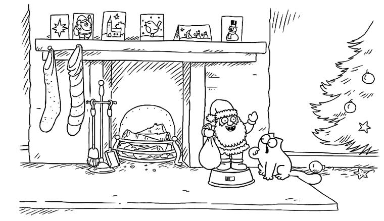 Simon's Cat - Christmas Presence (Part 1) simonscat_merrychristmas
