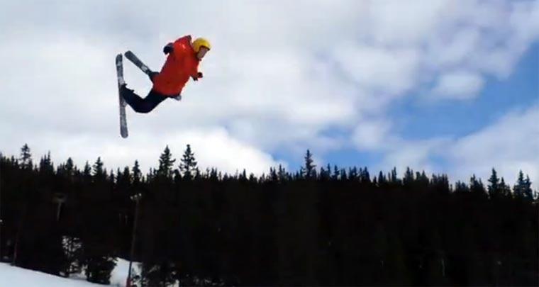 Skiunfall im Musikremix skier_fail_remix