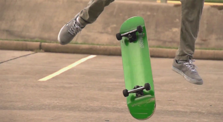 Skateboarding in Superslowmotion