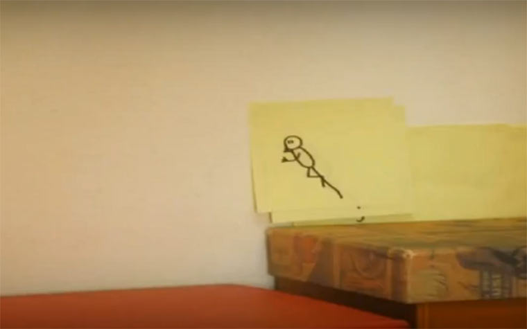 Stopmotion: Sticky Man stickyman