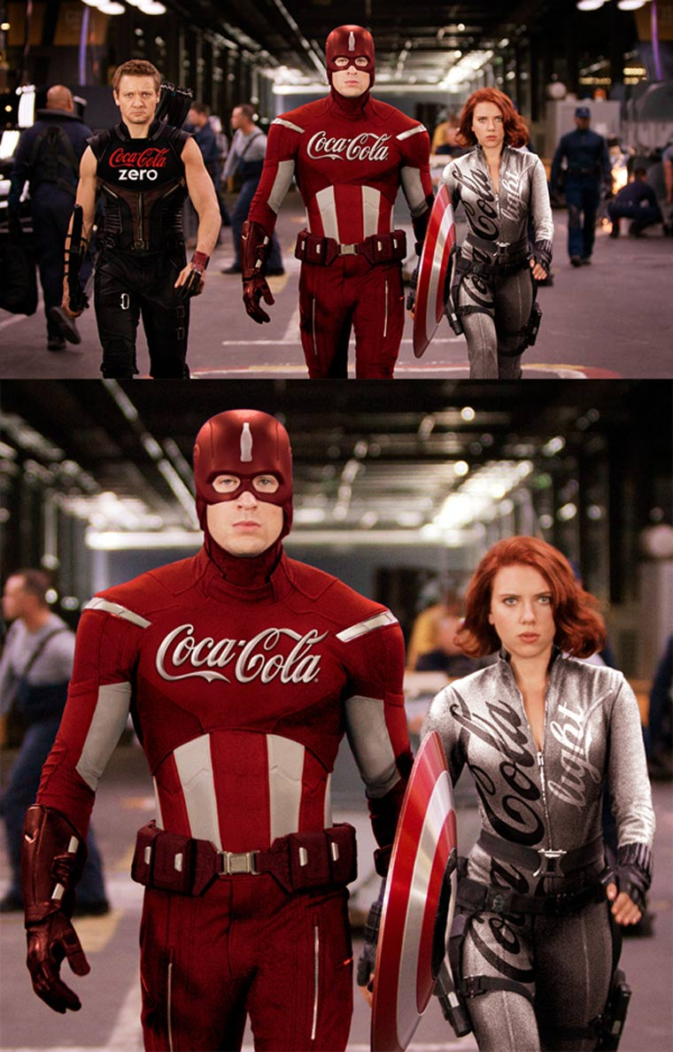 Wenn Superhelden gesponsert wären superherosponsering_02
