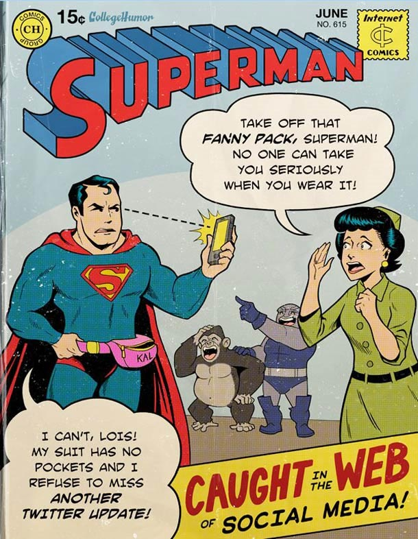 Supermans Probleme des digitalen Zeitalters superman_web20_02