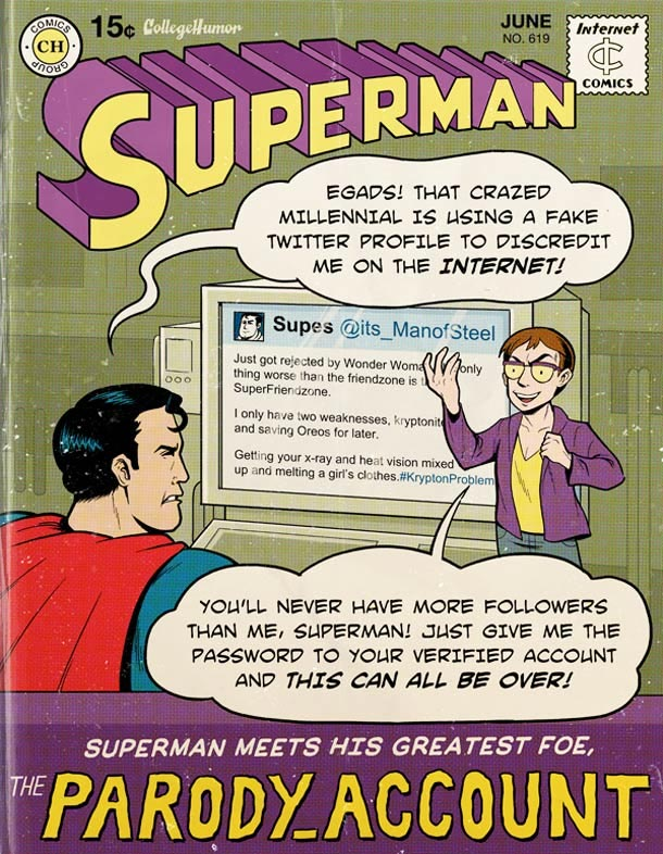 Supermans Probleme des digitalen Zeitalters superman_web20_04