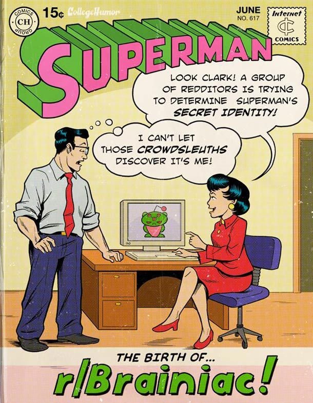Supermans Probleme des digitalen Zeitalters superman_web20_06