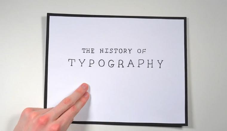 The History of Typography the_history_of_typography