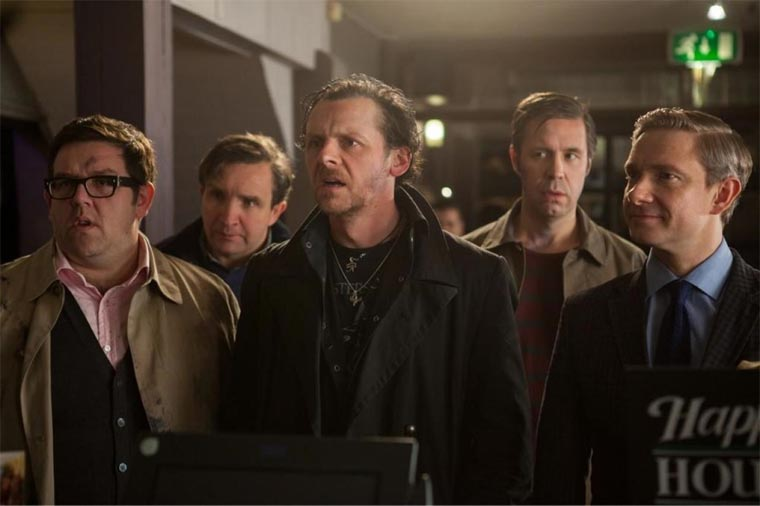 Trailer: The World's End (neuer Edgar Wright!)