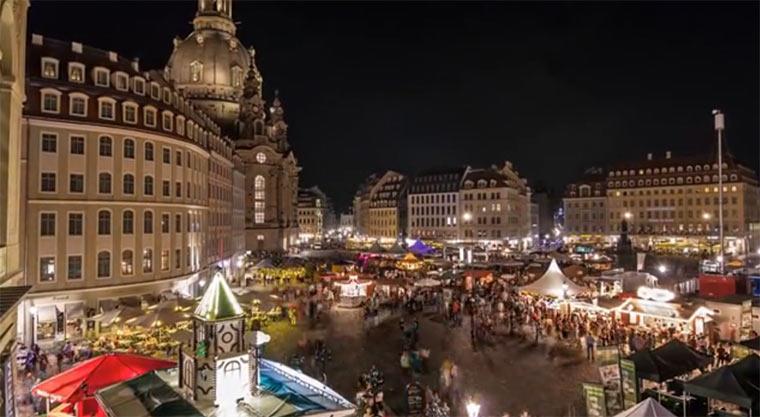 Timelapse: Dresden und Umland