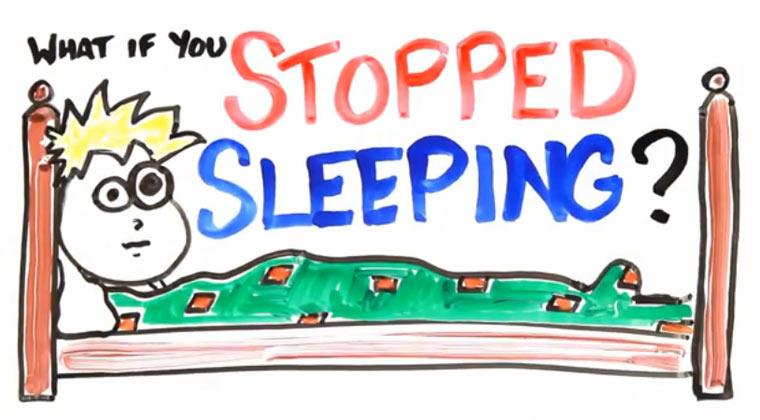 Was passiert, wenn man aufhört zu schlafen? whatifyoustoppedsleeping