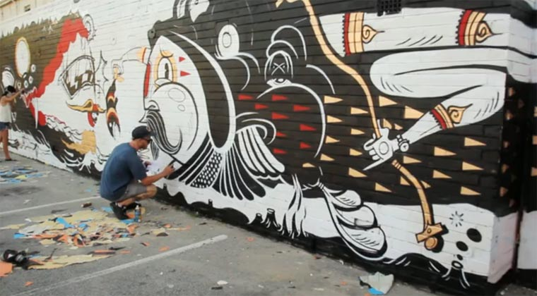 Mural Making of: The Yok/Sheryo yok_sheryo