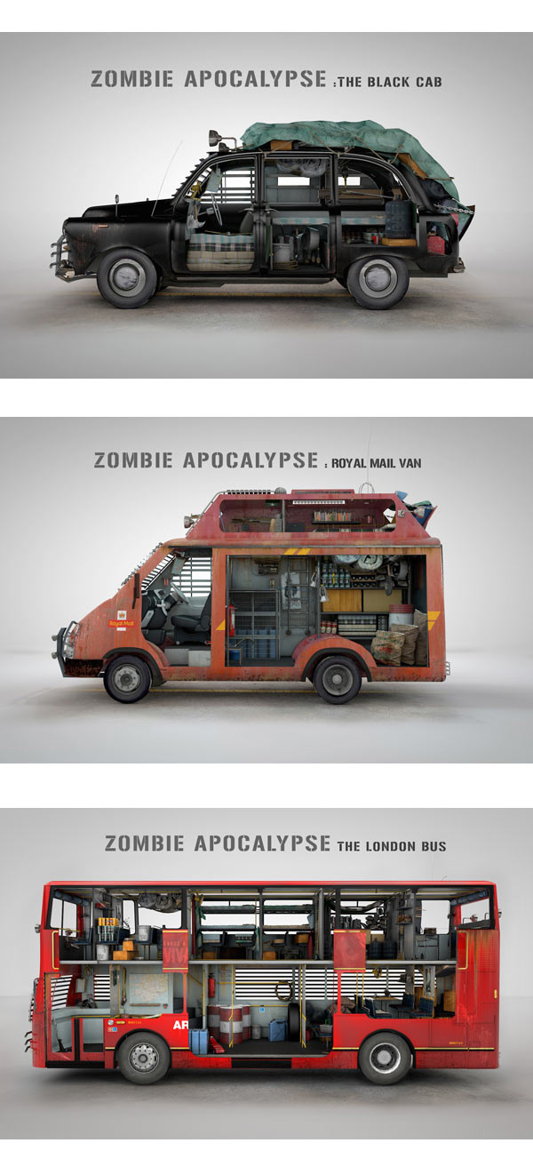 Zombie Survival Vehicles
