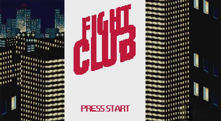 8-Bit Cinema - Fight Club 8-Bit_Fight-club