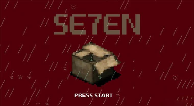 8-Bit Cinema: Se7en 8-bit-cinema_se7en
