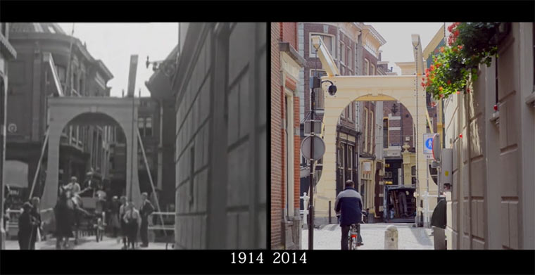 Alkmaar 1914 vs. 2014 Alkmaar_then_and_now