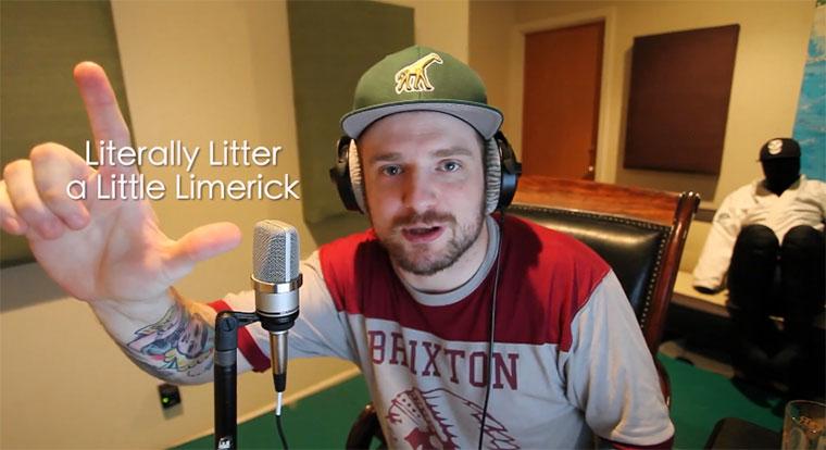 Alphabetischer Zungenbrecher-Rap Alphabet-Insanity