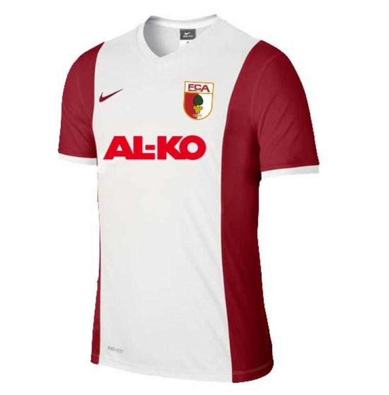 Alle Bundesliga-Trikots 2014/15 Augsburg_Trikot_01