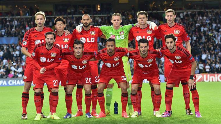 Leverkusen ist Trikotmeister 2014 BayerTrikotmeister